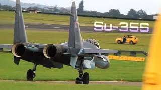 SU-35S at Paris Le Bourget 2013 [Remastered] - HD 50fps