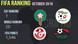 Top 15 african football national teams (FIFA ranking october 2019)