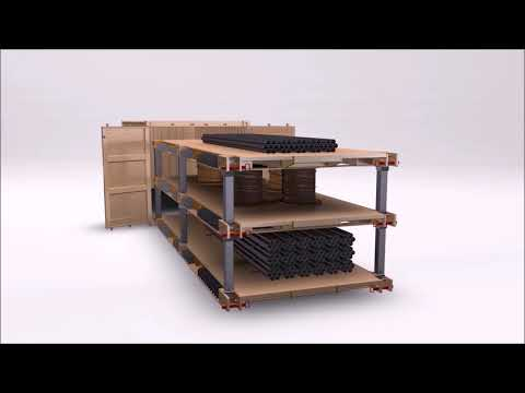 Sea Box Intermodal Warehouse System (IWS)