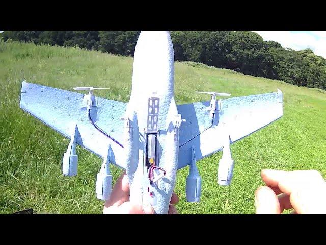 C-17 Globemaster 500mAh battery mod(WL toys f949 battery)part 4