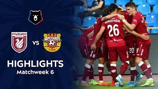 Highlights Rubin vs Arsenal (1-0)