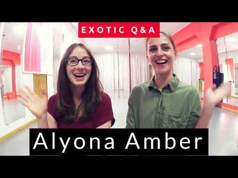 [Q&A] Interview with Alyona Amber an Exotic Poledancer