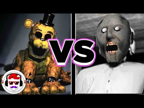 Five Nights at Freddy's VS Granny Rap Battle | Like It | #RockitGaming