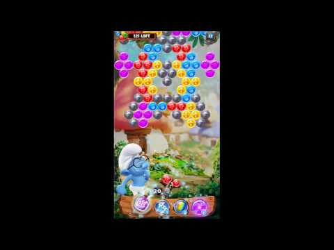 Smurf Bubble Story Game Level 32 | The Lost Village Game
