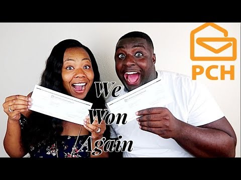 HOW TO WIN BIG MONEY WITH PUBLISHING CLEARING HOUSE |COUPLE WINS TWICE IN  2018|