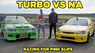 homepage tile video photo for TOO SOON JUNIOR (Turbo VS Non-Turbo Battle)