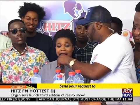 HITZ Fm Hottest DJ - Joy Entertainment Today (14-11-17)