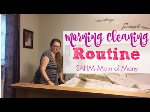 morning-cleaning-routine-|-sahm-large-family