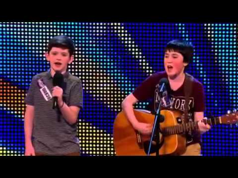 Jack and Cormac britains got talent audition HD