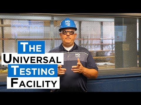 The McWane Ductile Universal Test Facility