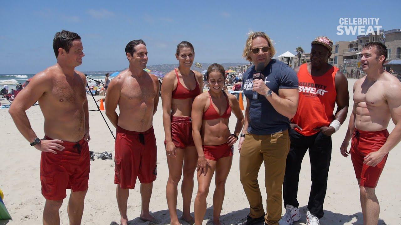 San Diego Lifeguard Fitness Action
