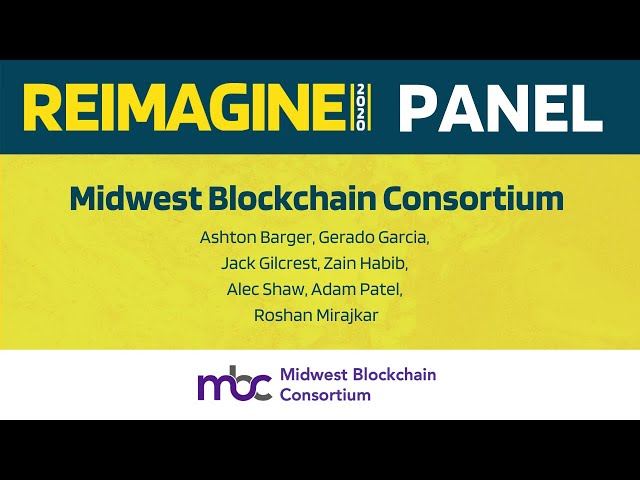 REIMAGINE 2020 v2.0 - Midwest Blockchain Consortium - Panel Discussion