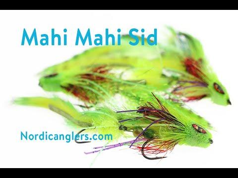 Fly Tying Instruction Articulated Mahi Mahi