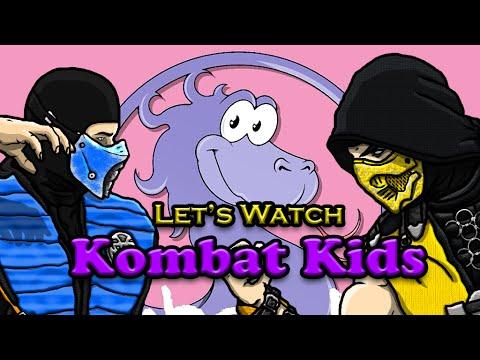 Scorpion & Sub-Zero REACT to Kombat Kids - Mortal Kombat Begins (MKX Parody)
