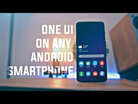 How To Get SAMSUNG's ONE UI On Any Android Smartphone...?