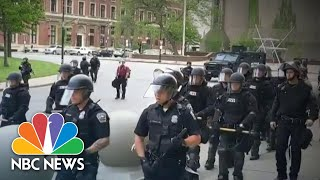 Growing Calls For Police Reform After Clashes With Protesters Caught On Video | NBC Nightly News