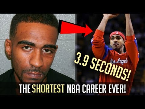 The SHORTEST NBA Career EVER! - 3.7 SECONDS!