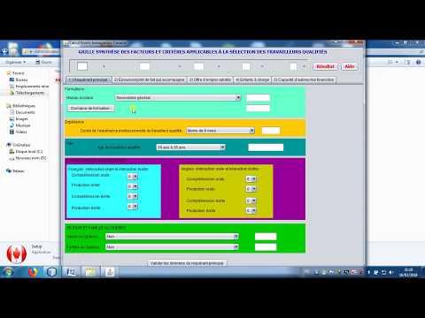 Immigration canada evaluation CSQ