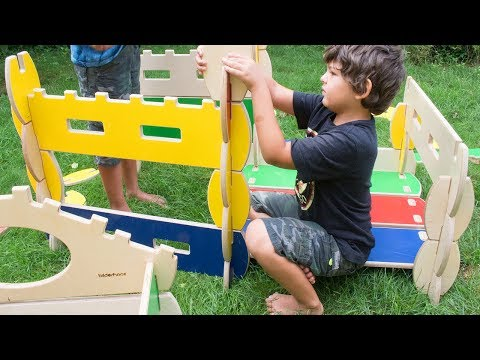 Bilderhoos - Kid-Sized Architectural Play Set