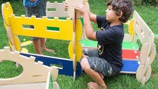 Bilderhoos - Kid-sized Architectural Play Set