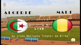 Algérie vs Mali en direct