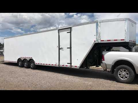 New 8.5x40 Insulated Gooseneck Cargo Trailer for sale!