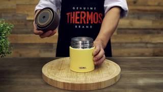 THERMOS Рецепты: Паста с овощами и морепродуктами в термосе JBQ