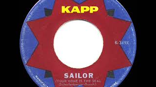 1960 HITS ARCHIVE: Sailor (Your Home Is The Sea) - Lolita (U.S. hit 45 version)