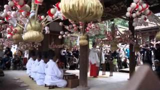 120201相楽神社「餅花祭」 相楽のり子 動画 27