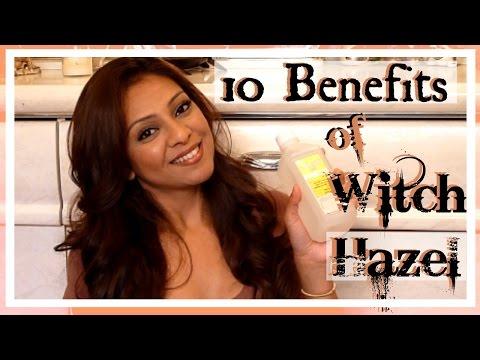 10 Benefits of Witch Hazel │ Shrink Pores, Tighten & Brighten Skin, Clear Acne, Toner & More!