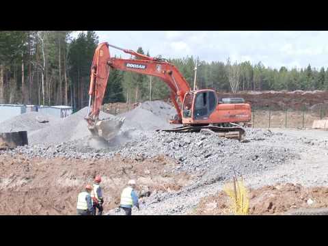 В «Титановой долине» строят очистные сооружения