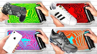 BEST of HYDRO DIPPING Videos Compilation PS4 + iPhone + Shoes