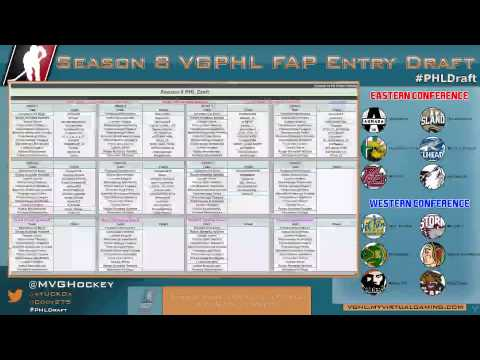 Season 8 VGPHL Entry Draft - [VoD]