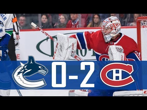 Canucks vs Canadiens | Highlights (Jan. 3, 2019) [HD]