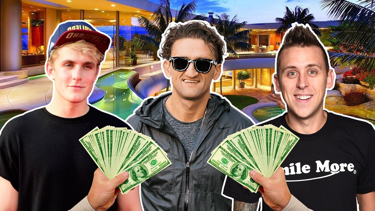 58123ed962 Top 10 RICHEST YouTube Vloggers Of 2017! (Roman Atwood