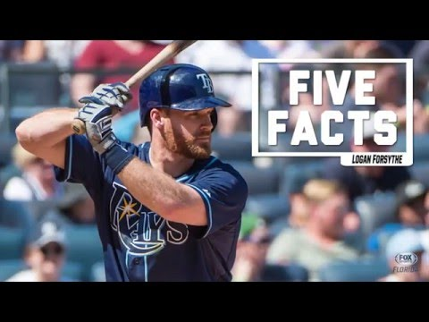 Five Facts: Tampa Bay Rays' Logan Forsythe