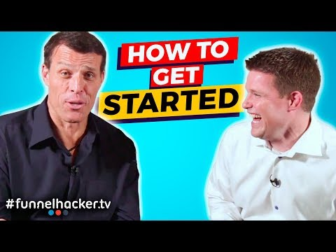 Tony Robbins And Russell Brunson Talk About How To Start An Online Business (Part 1)