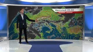Previsioni meteo Video per mercoledi, 14 novembre