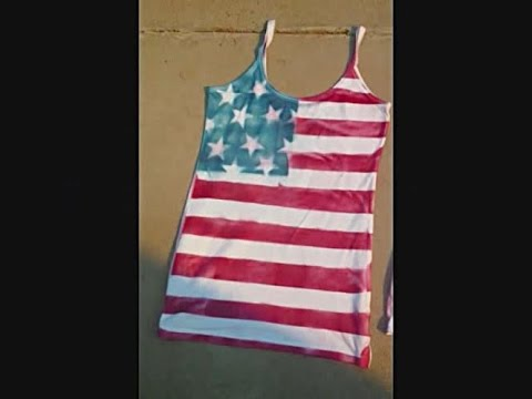 DIY: American FLAG T-Shirt