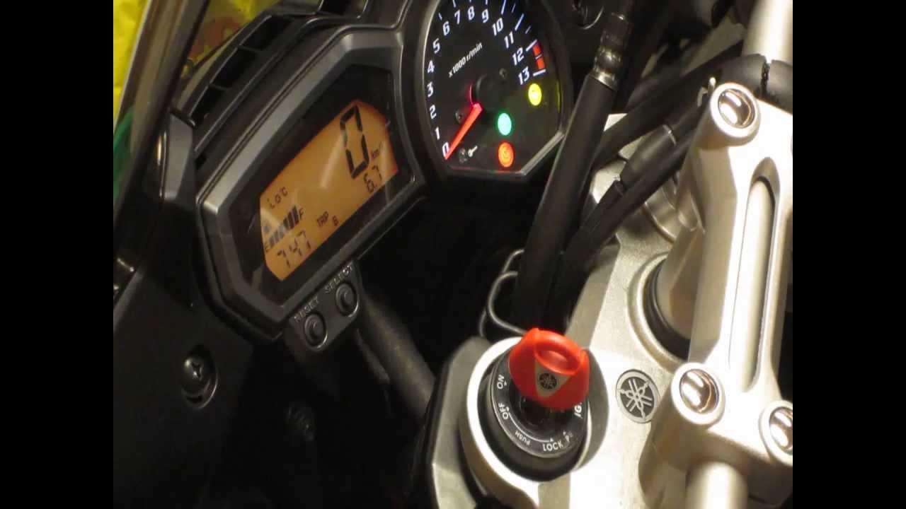Register Yamaha Immobilizer Key on FZ1