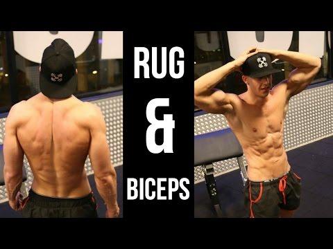Rug & Biceps Lichaamsgewicht Training