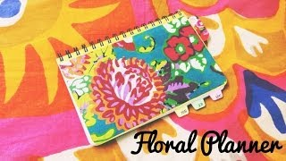 DIY Floral Planner✿ | BeautybyBlaire Thumbnail