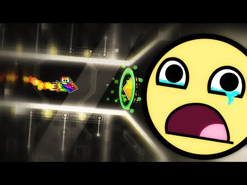 "GEOMETRY DASH 2.1 - ""THRONE"" BY ENZORE - VERI VERI SAD LEVUL.."