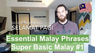Essential Malay Phrases - Super Basic Malay #1