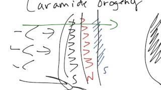 102 - M Laramide Orogeny