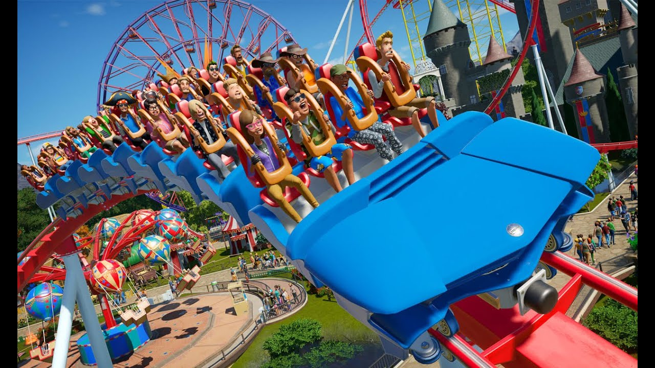 Planet Coaster Console Edition -GAMEPLAY TRAILER PS5 PS4 - YouTube