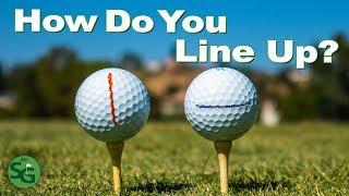 The Biggest Mistake Golfers Make with the Line on the Ball | Mr. Short Game