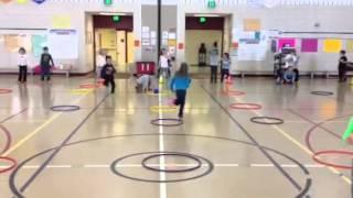Math Hula Hoop Bowling