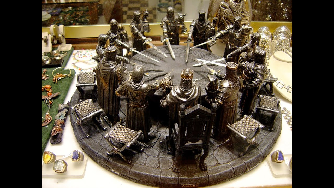 Image gallery king arthur round table for 13 knights of the round table