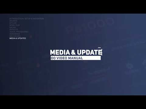 Pa1000 Video Manual Part 10: Media & Updates
